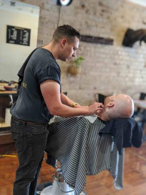 From Kmart clippers to a bustling barber shop