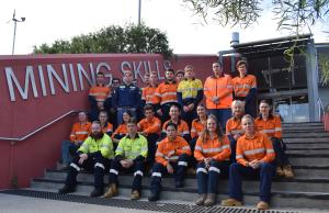 TAFE NSW MINING APPRENTICES DIGGING IN