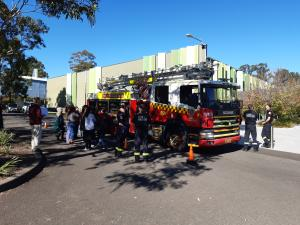 Western Sydney migrants gain dual skills in English language and winter fire safety