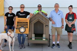 TAFE NSW Gymea builds paw-fect homes for RSPCA rescue dogs