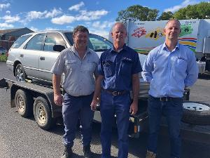 Vehicle donations put TAFE NSW students in driving seat to build job-ready skills