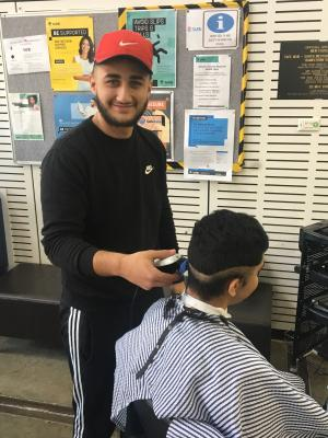 TAFE NSW Barbering Program helps student find his fade
