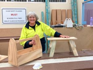 AGE NO BARRIER AS TAFE NSW HELPS WOMEN NAIL HOME REPAIRS
