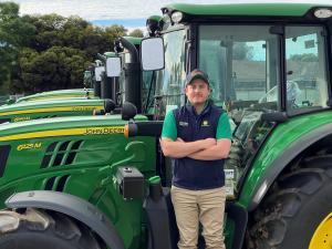 TAFE NSW graduate Apprentice of the Year finalistat John Deere Awards