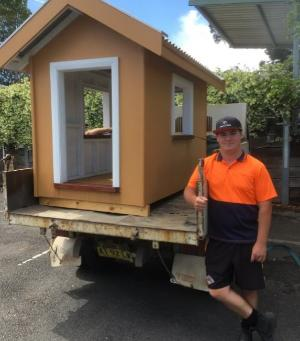 TASTE OF TRADES: TAFE NSW MACKSVILLE STUDENTS BUILD CUBBY HOUSE FOR CHARITY