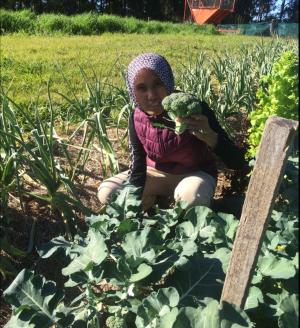 Budding farmer gives TAFE NSW a green thumb