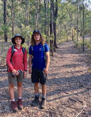 TAFE NSW students turn their love of the outdoors into a career