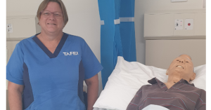 CARING KIND: TAFE NSW helps Annette pivot from banking to nursing