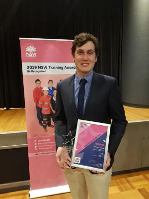 TAFE NSW student named Apprentice of the Year at awards