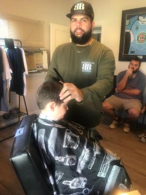 The boomerang barber's career is booming