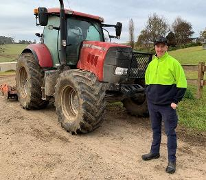 SAY CHEESE: Fourth-gen Bega dairy farmer turns to TAFE NSW for 'skills of the future'
