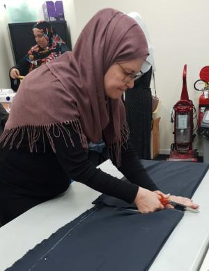 SEWING A BRIGHT FUTURE: MIGRANT WOMEN TAKE UP TAFE NSW FASHION COURSE