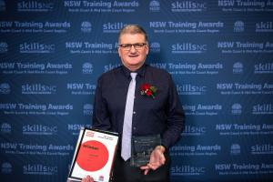 TAFE NSWteacher wins North Coast VET Trainer of the Year