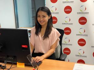 MEET THE TAFE NSW GRADUATE WORKING ON A GLOBAL EVENT TO SUPPORT THE FUTURE OF HER INDUSTRY