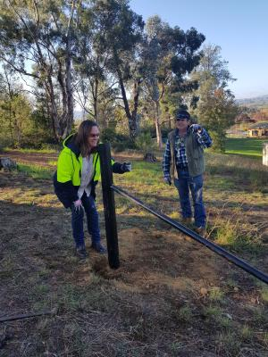 Reconstructing hope: TAFE NSW farm fencing course helping in the bushfire recovery effort