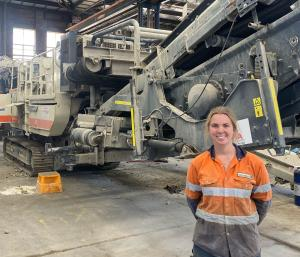 SUCCESSFUL CAREER IN TOW FOR FEMALE APPRENTICE