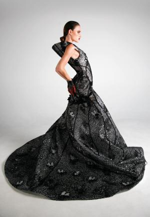 TAFE NSW graduate showcases their collection at Fashion Week