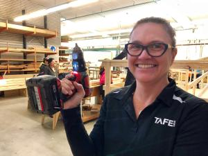 TAFE NSW trains SALT women in region's first handy-person pilot program