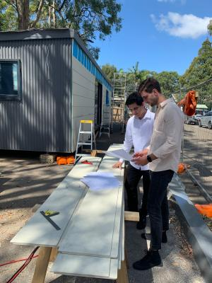 SMALL HOUSE, BIG IMPACT: TAFE NSW students build house for charity