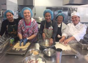 Cooking and conversation at TAFE NSW Loftus