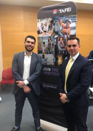 On the market: TAFE NSW graduate helping students jumpstart their careers