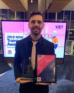Local TAFE NSW students take gold at 2019 Hunter Training Awards