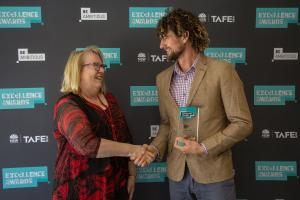 Jeremy praised at prestigious TAFE NSW awards