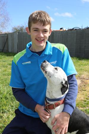 Animal career pick of the litter for TAFE NSW graduate Keagan Paine