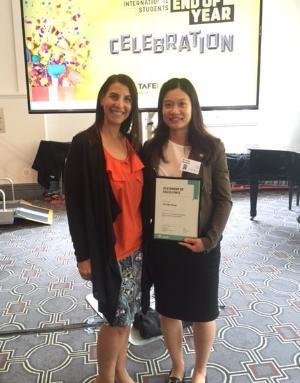TAFE NSW celebrates higher education double major graduate