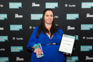 Katie-Janes Squires recognised for her academic achievements