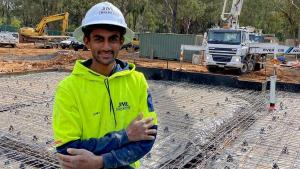 TAFE NSW helps Kes cement his future