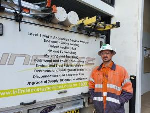 ELECTRICIAN RESPARKS CAREER TO HELP DEVELOP WESTERN SYDNEY