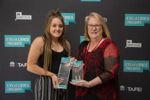 Kirsten praised at prestigious TAFE NSW awards