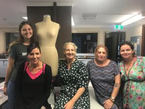 Changing of the fashion guard at TAFE NSW Casino