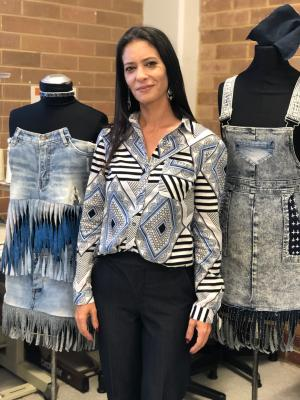 TAFE NSW student sews the way to sustainable fashion