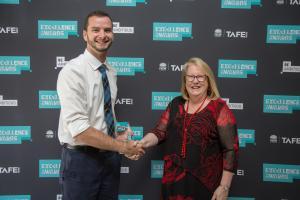 Mark praised at prestigious TAFE NSW awards