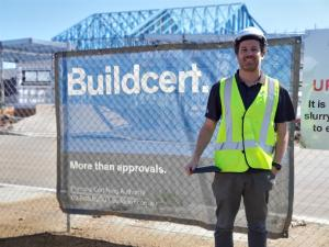 Giant leap of faith from Mining to Construction pays dividends for TAFE NSW graduate