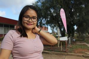 Raising hope: Mu's journey from refugee to TAFE NSW star student