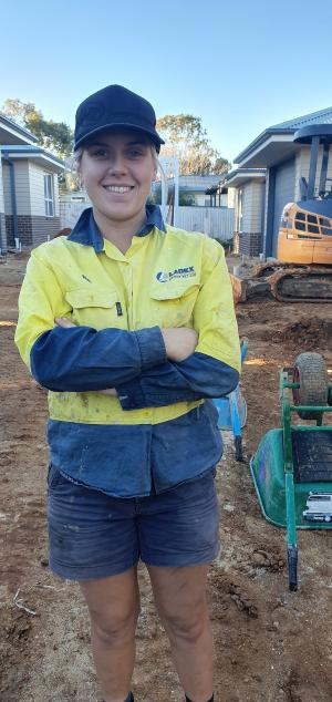 Nat hammers home a career in construction