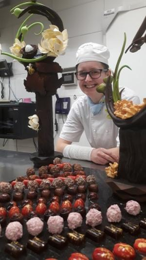 Inspired chocolate sculptures launch TAFE NSW patisserie students into local industry