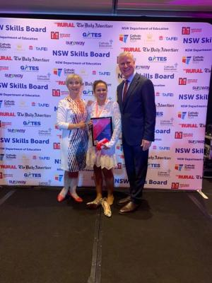Too deadly: Inspiring Trish claims top awards gong