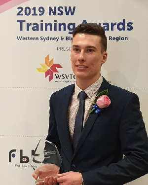 TAFE NSW Mount Druitt student wins Apprentice of the Year