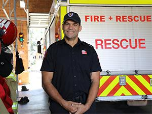 Indigenous firefighter becomes master of his own destiny at TAFE NSW