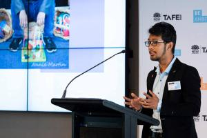 TAFE NSW STUDENT NAMEDCISAINTERNATIONAL VET STUDENT OF THE YEAR