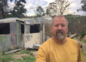 Fee-free TAFE NSW course to help Brogo grandfather rebuild home