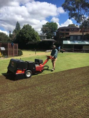 Green thumb and job growth 'pitch' perfect for TAFE NSWstudent