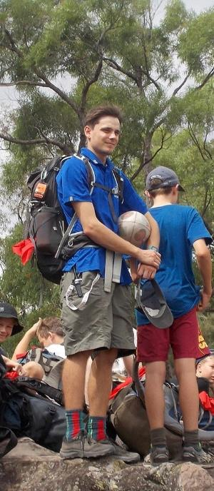 TAFE NSW student turns his love of the outdoors into a career