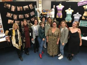 Diploma of fashion students inspire on final assessment day