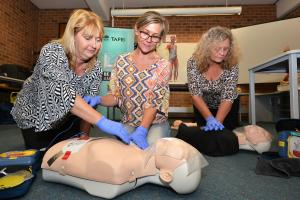 Zero to hero: TAFE NSW offers a first aid lifeline to Bega residents