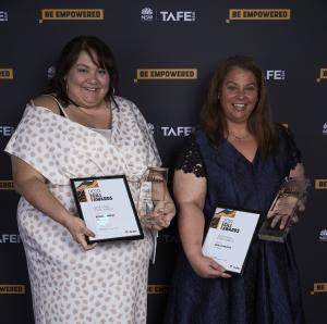Natalie Wilcock and Rebecca Murphy shine at TAFE NSW Gili Awards